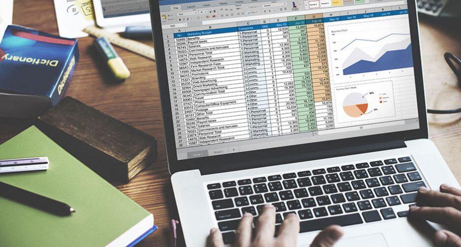 کاربرد نرم افزار اکسل در حسابداری