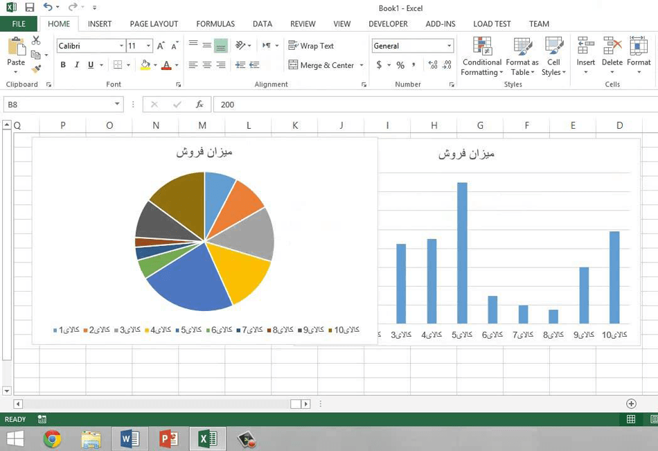تهیه گزارشات حسابداری با استفاده از نرم افزار اکسل